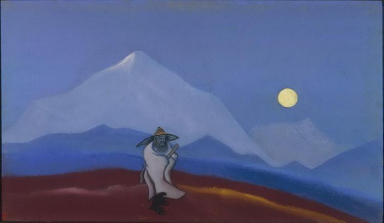 The Philosopher. Silence., 1940 - Nicholas Roerich