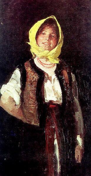 Cheerful Peasant Woman, 1894 - Nicolae Grigorescu