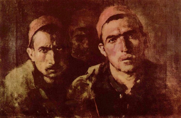 Turkish prisoners - Nicolae Grigorescu
