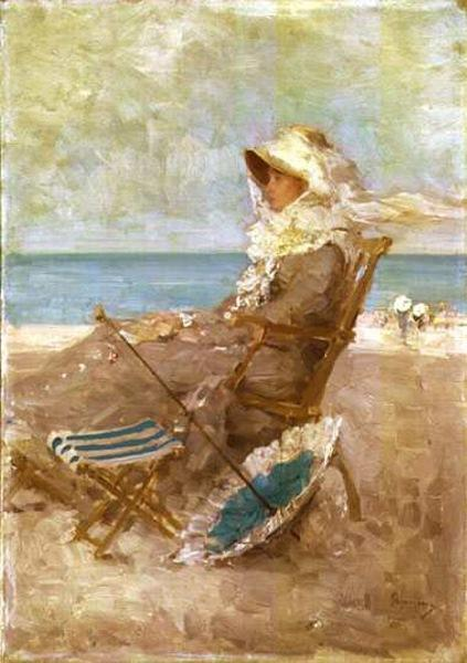 Woman on the Seashore, 1881 - Nicolae Grigorescu