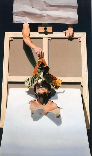 Le couronnement du peintre, 1991 - Николаэ Маниу