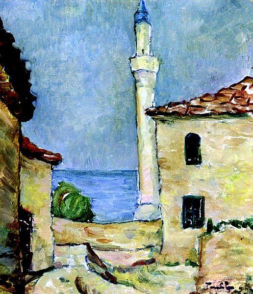 Lighthouse in Balchik - Nicolae Tonitza