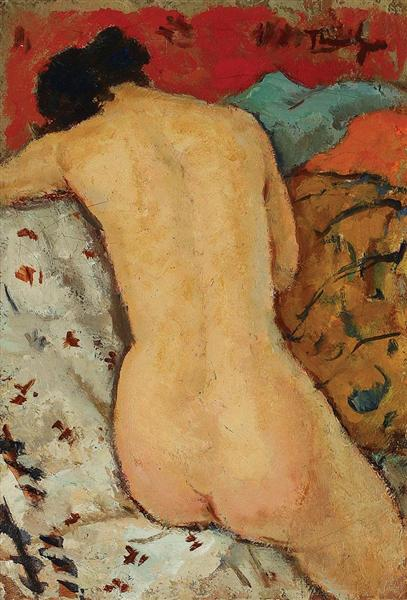 Nude in the Thalamus - Nicolae Tonitza