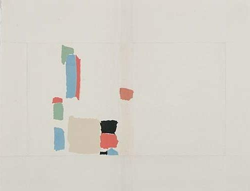 Abstract Composition - Nicolas de Staël