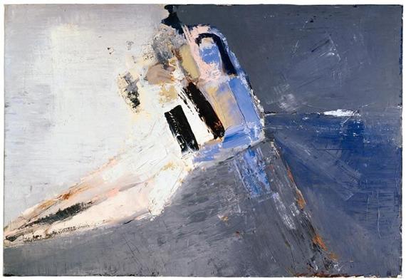 Figure accoudée, 1953 - Нікола де Сталь
