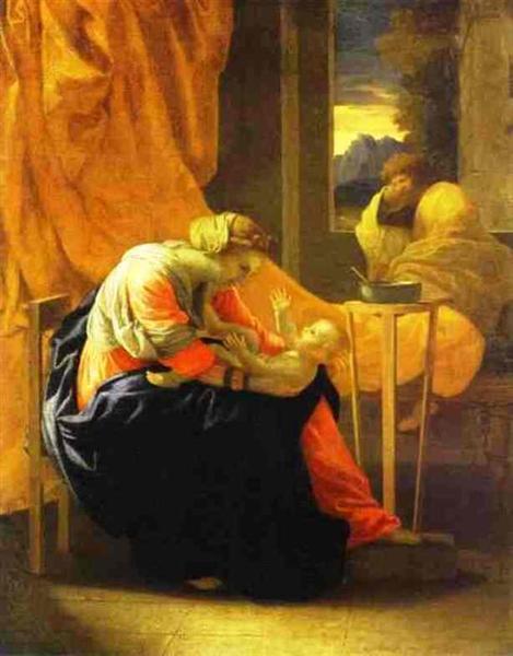 The Holy Family, 1641 - Nicolas Poussin