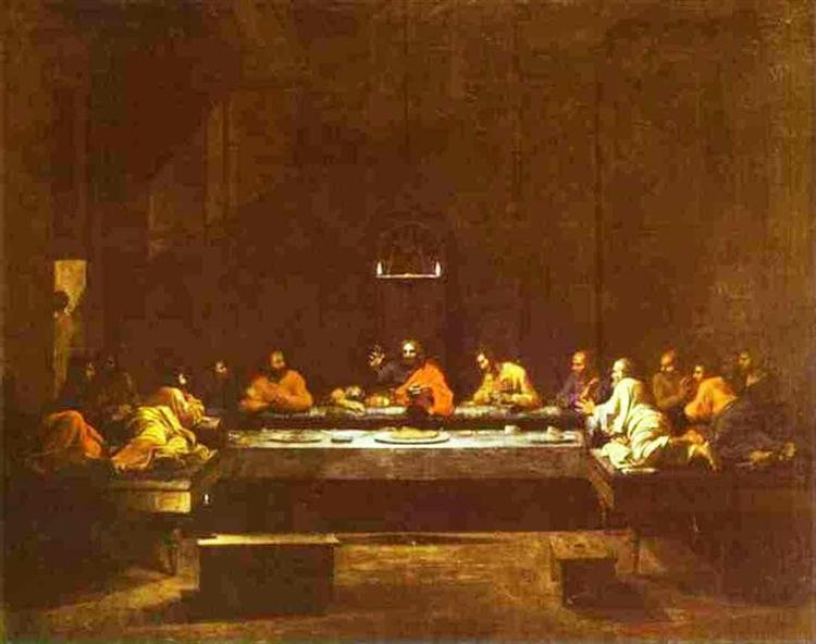The Last Supper, 1640 - 1649 - Nicolas Poussin