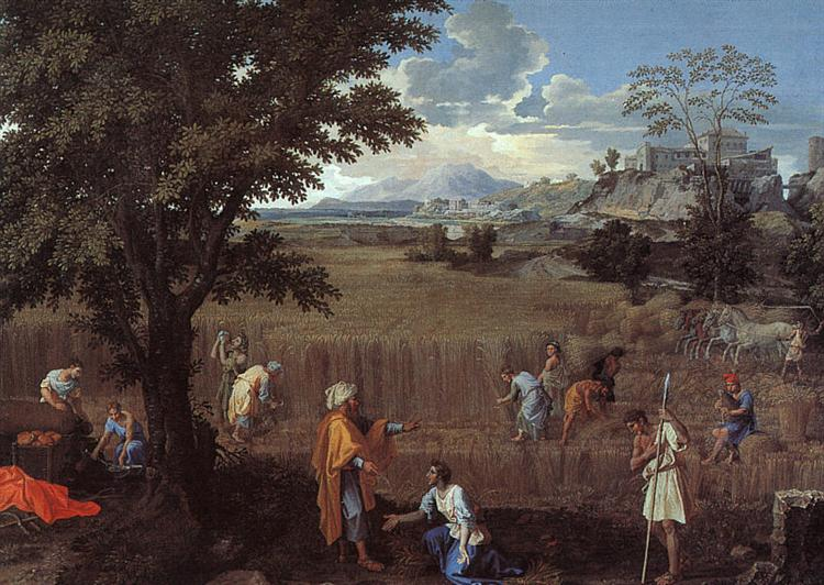 The Summer (Ruth and Boaz), 1660 - 1664 - Nicolas Poussin