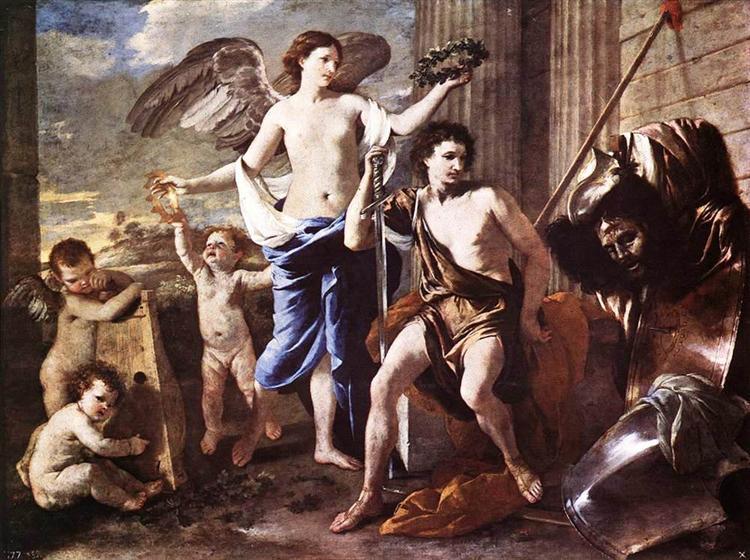 The Triumph of David, c.1630 - Nicolas Poussin