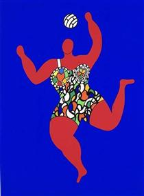 Volleyball - Niki de Saint Phalle