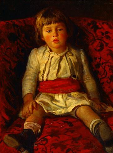 Portrait of Nikolay Ge, the Artist's Grandson, 1889 - Nikolai Ge