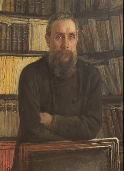 Portrait of P.A. Kostichev, 1892 - Nikolai Ge