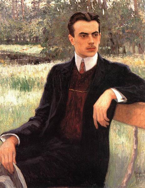 Portrait of N.Yusupov - Nikolay Bogdanov-Belsky
