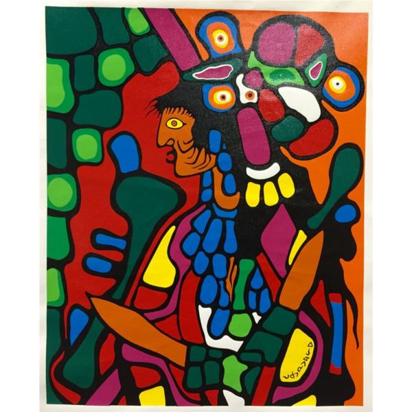 The Great Earth Mother, 1976 - Norval Morrisseau