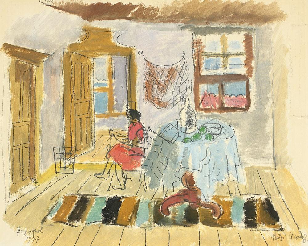 Interior in Sozopol, 1947