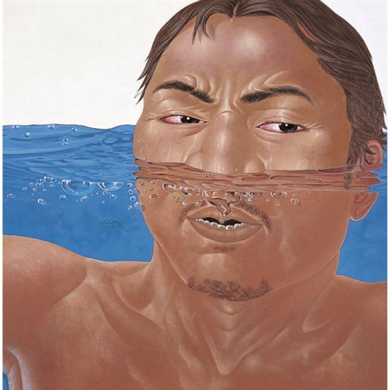 Bernafas (Breathe), 2004 - Nyoman Masriadi