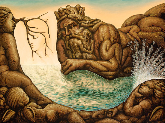 Absents of the mermaid - Octavio Ocampo