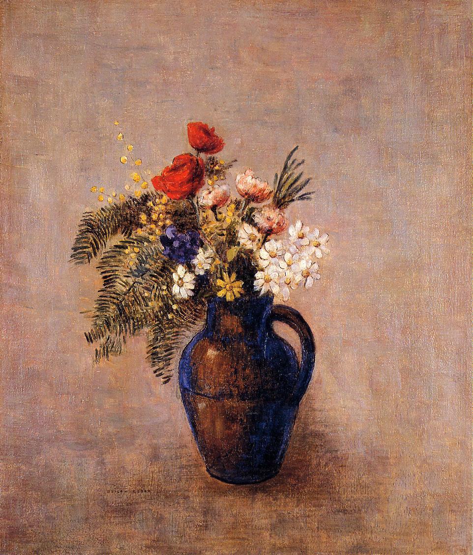 Bouquet Of Flowers In A