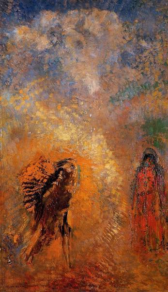 The Apparition - Odilon Redon