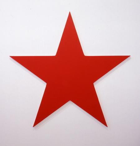 Red Star, 1990 - Olivier Mosset
