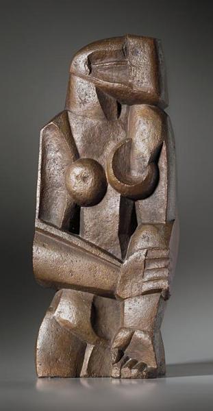 Sculpture femme nu debout