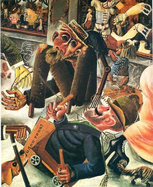Pragerstrasse, 1920 - Otto Dix