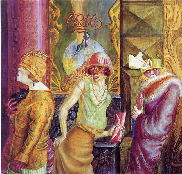 Three Prostitutes on the Street, 1925 - Otto Dix