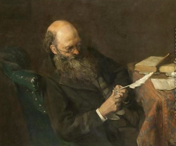 The writer - Périclès Pantazis