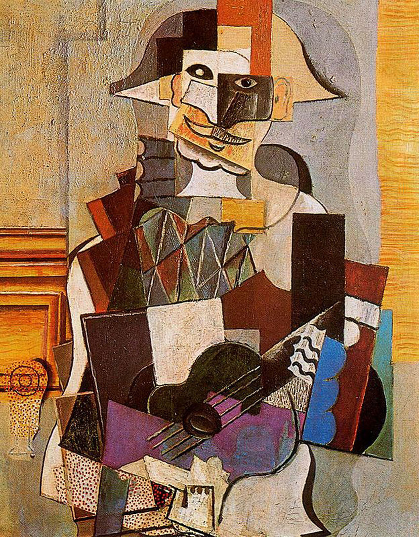 Pablo Picasso Collage Artwork