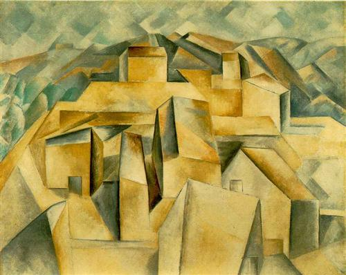 Houses on the hill - Pablo Picasso