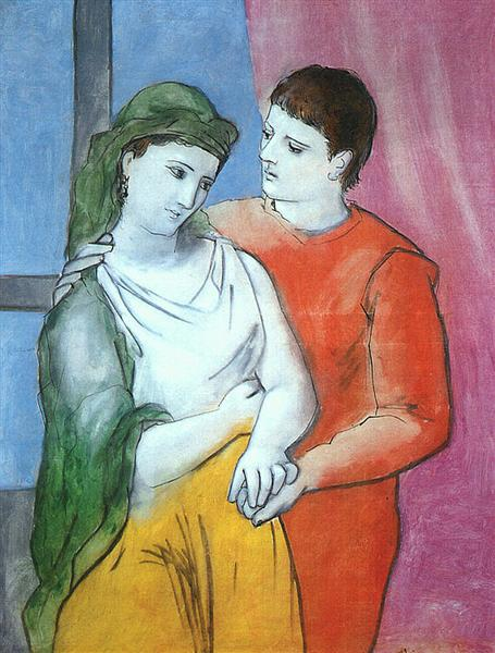 Lovers, 1923 - Pablo Picasso
