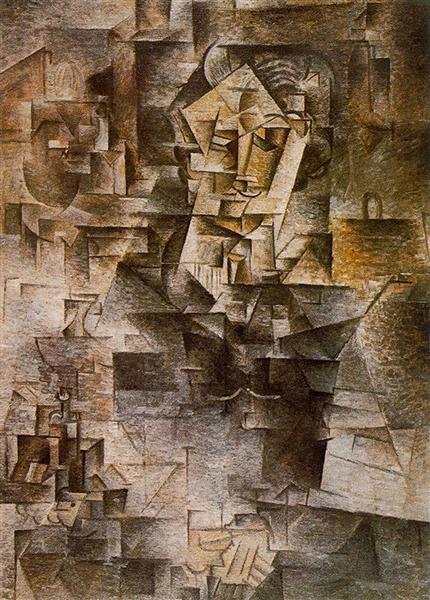 Portrait of Daniel-Henry Kahnweiler, 1910 - Pablo Picasso