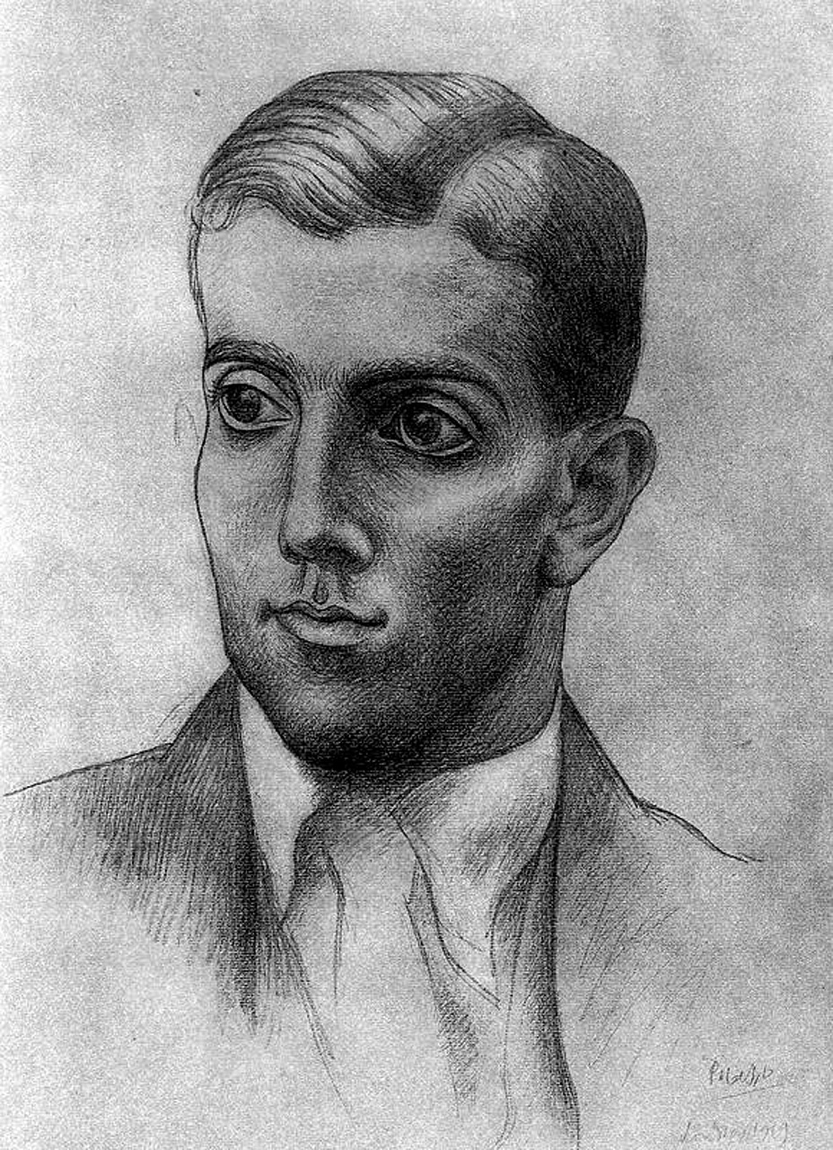 Portrait of Léonide Massine, 1919