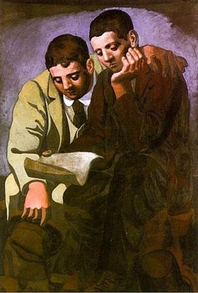 Reading The Letter - Pablo Picasso