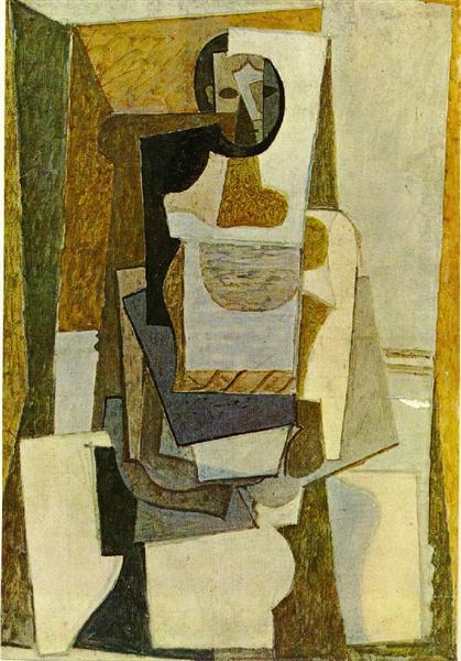 Untitled, 1919 - 畢卡索
