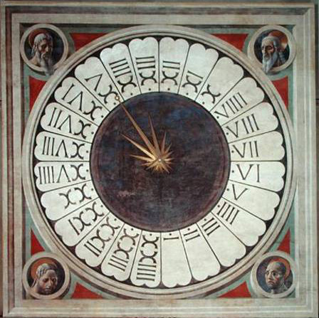 24 hours clock, 1443 - Paolo Uccello