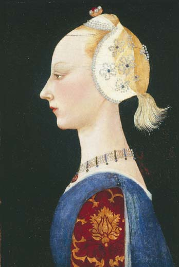 A Young Lady of Fashion, 1464 - Paolo Uccello