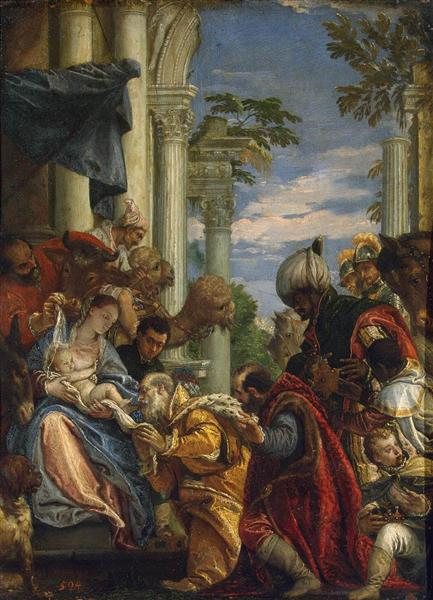 Adoration of the Magi, c.1570 - Paolo Veronese