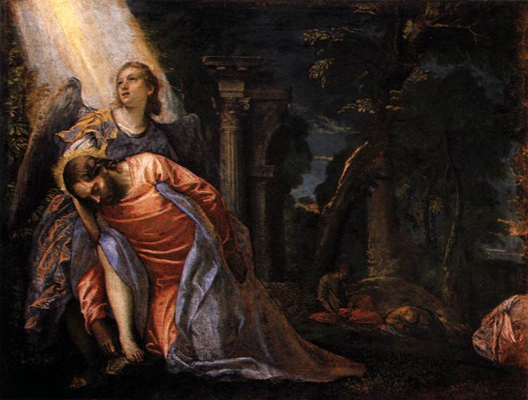 Christ in the Garden of Gethsemane, 1583 - 1584 - Paolo Veronese