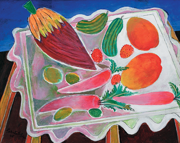 Still Life with Fruits and Vegetables, 2005 - Paritosh Sen