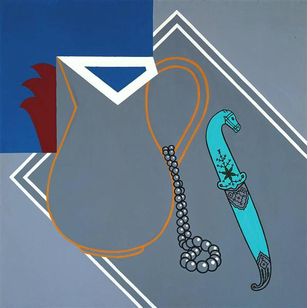 Still Life with Dagger, 1963 - Patrick Caulfield
