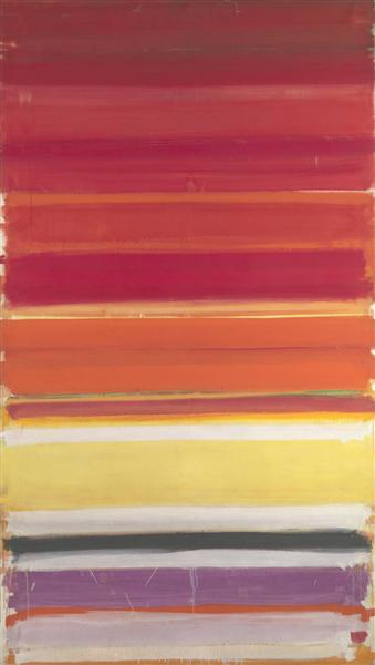 Horizontal Stripe Painting: November 1957 - January 1958, 1957 - 1958 - Patrick Heron