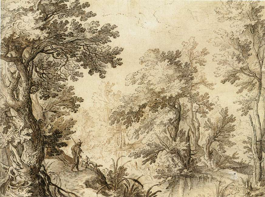 A Forest Pool, 1600