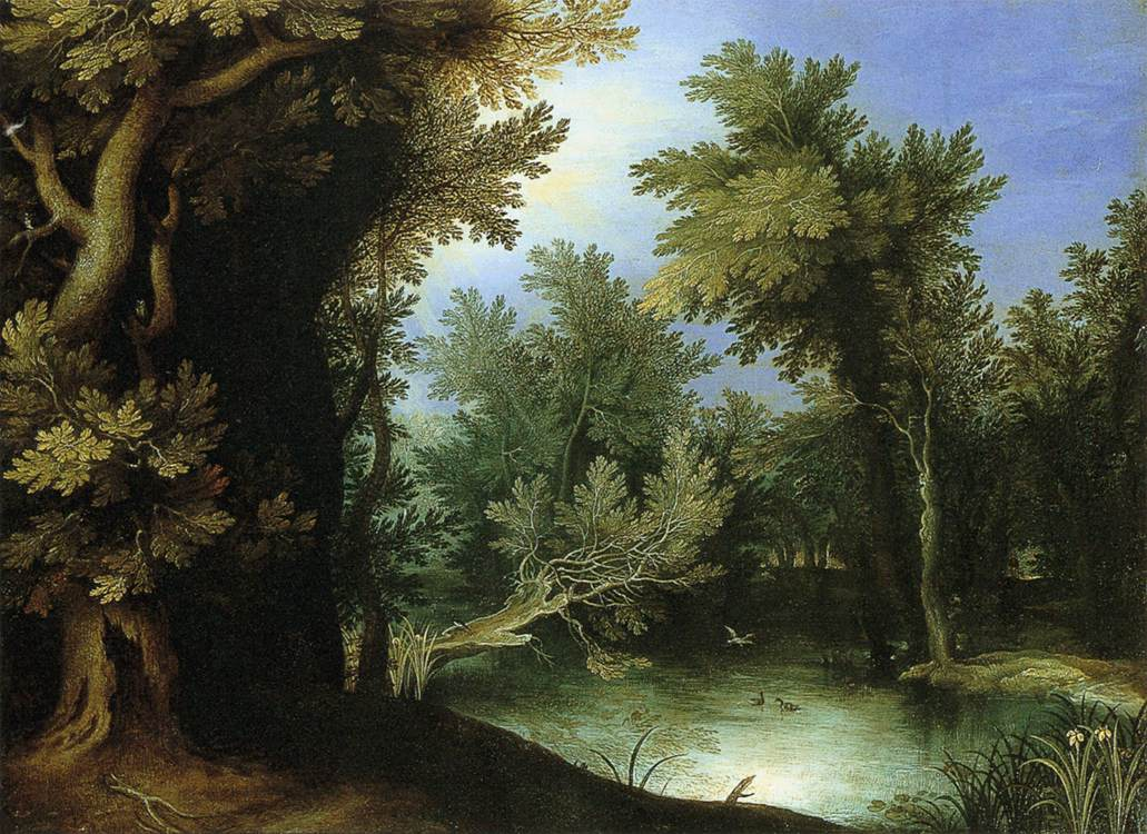 Landscape with a Marsh, 1595
