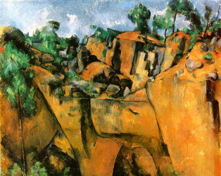 Bibemus Quarry - Paul Cézanne