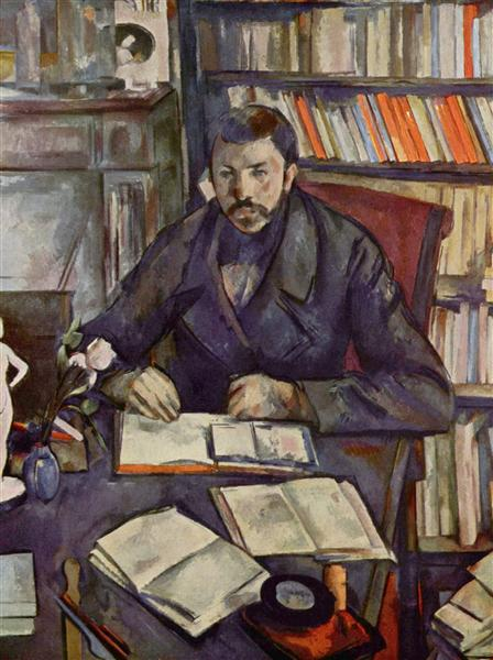 Portrait of Gustave Geffroy, 1895 - Paul Cezanne