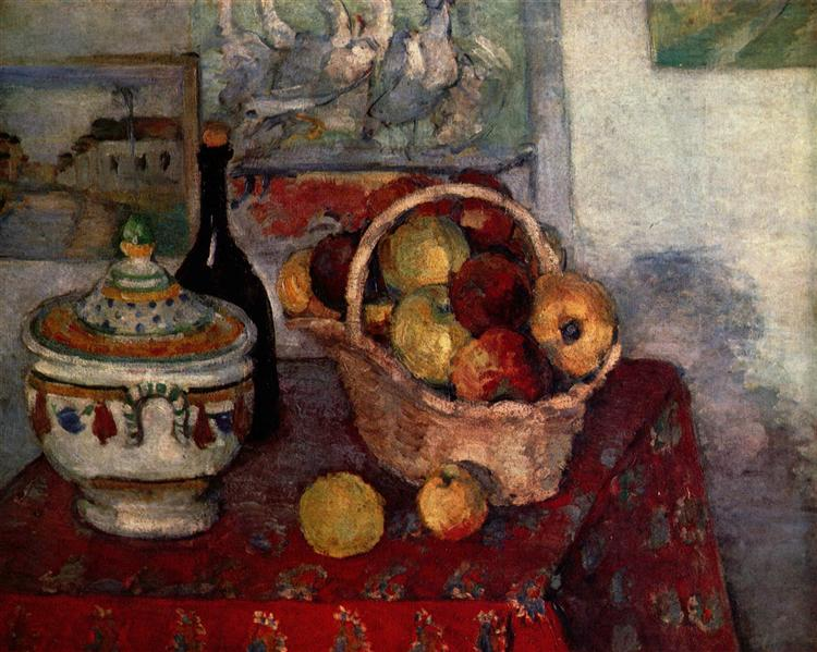 Still Life with Soup Tureen, 1884 - Paul Cezanne
