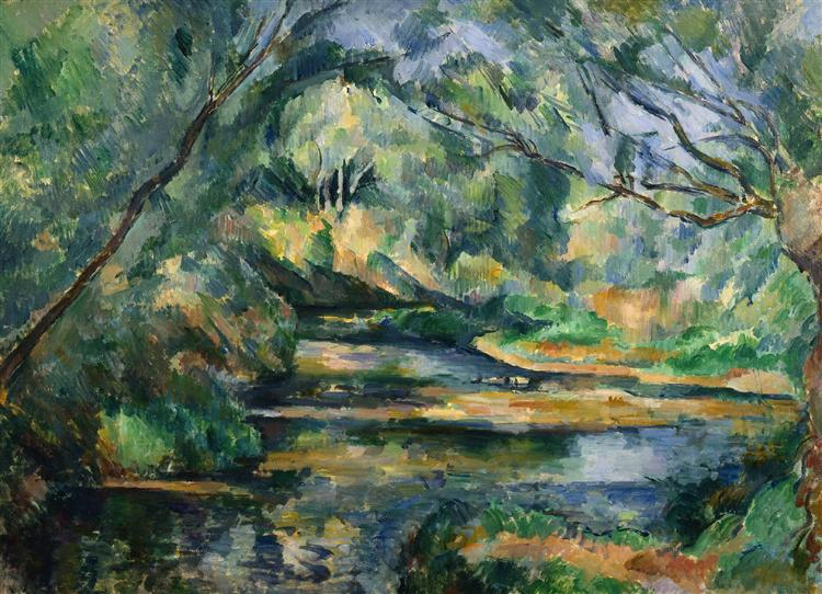 The Brook, c.1898 - 1900 - Paul Cezanne