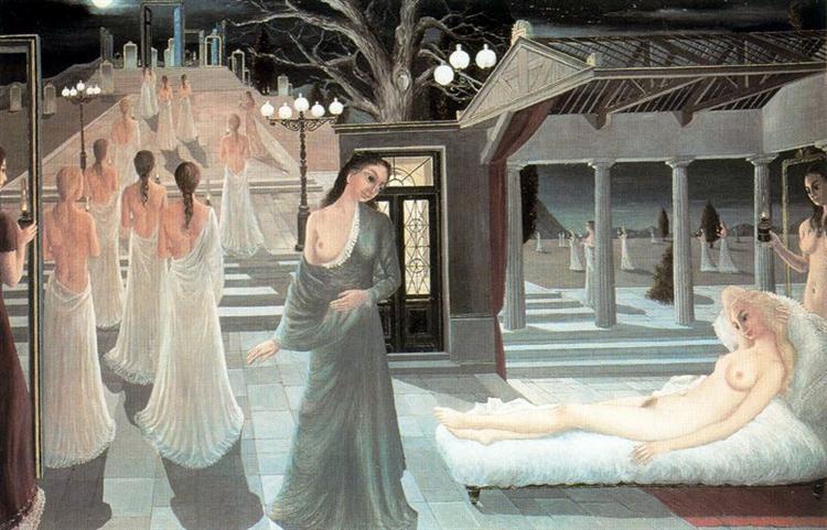 Acropolis, 1966 - Paul Delvaux