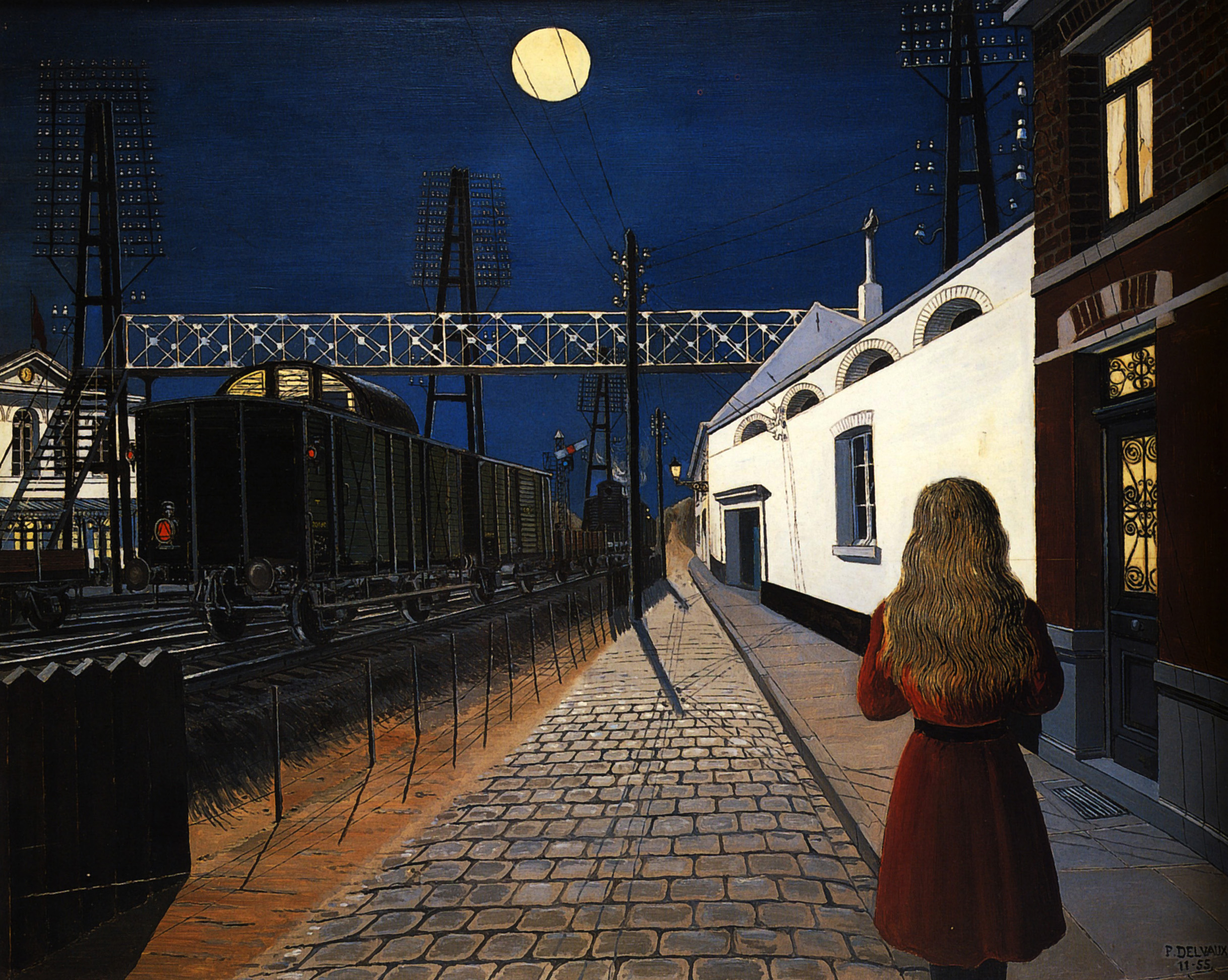 Paul Delvaux Gallery Loneliness Paul Delvaux